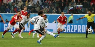Mohamed Salah a sauvé l'honneur mais pas la qualification (photo Fifa.com )
