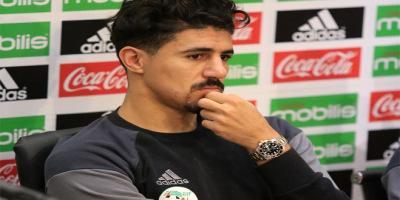 Baghdad Bounedjah ne comprend pas l'hostilité des fans des Fennecs