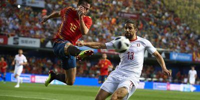 Espagne - Tunisie (1-0)