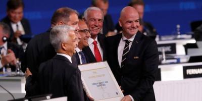 Le  trio USA-Canada-Mexique organisera le Mondial 2026