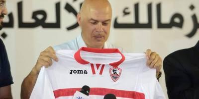Christian Gross (photo page facebook du Zamalek)