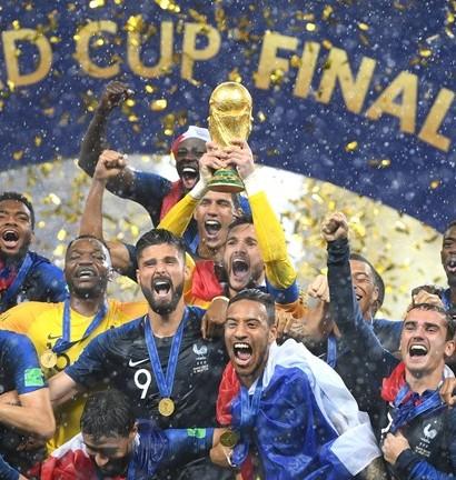 L'équipe de France championne du monde  (photo Fifa.com)