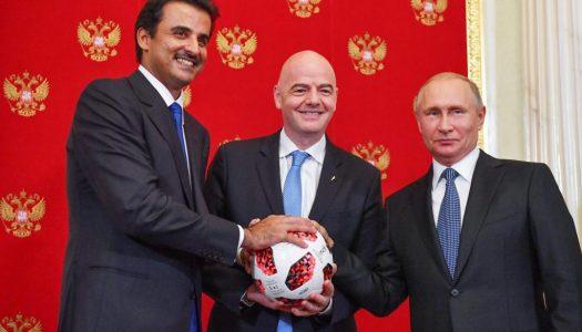 Qatar 2022:  L'Emir Al Thani a pris le flambeau