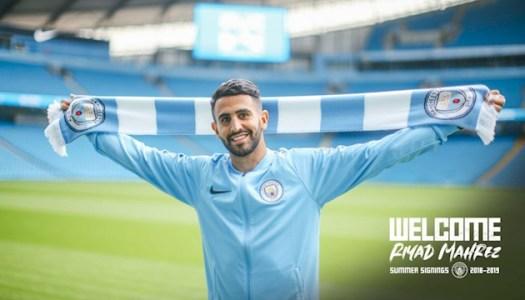 Manchester City; Mahrez flambe, Guardialo applaudit