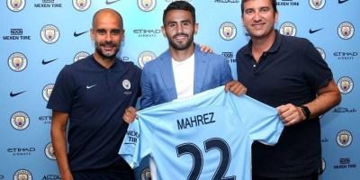 Riyad Mahrez à Manchester City