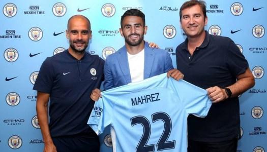 Manchester City: Mahrez arrive pour 5 ans
