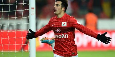 José Manuel Jurado (ici sous les couleurs du Spartak Moscou)