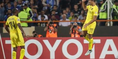 Troisième doublé pour Baghdad Bounedjah en LDC cette saison (photo afc.com )