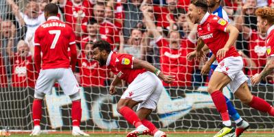 Hilal Soudani, déjà deux buts avec Notthingam Forest