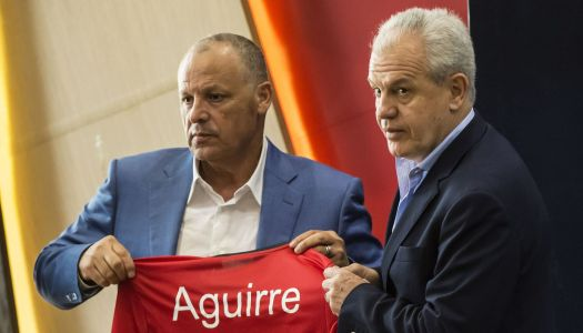 Pharaons : Javier Aguirre aux manettes