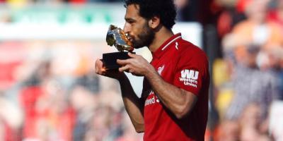 Mohamed Salah, élu meilleur joueur de Premier League en 2018