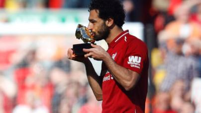 Mohamed Salah, élu meilleur joueur de Premier League en 2018 sera-t-il dans le tope 3 ou Top 5 du Ballon d'or ?