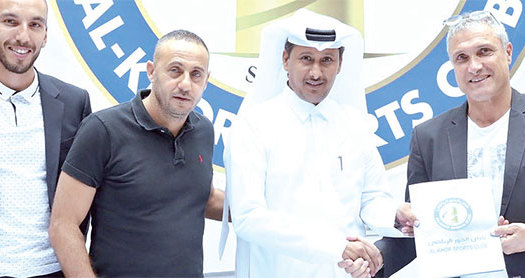 Qatar : Casoni rebondit à Al Khor