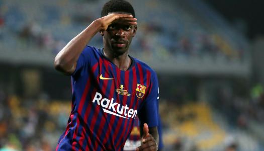 FC Barcelone :  O.Dembélé a pensé à Abdelhak Nouri