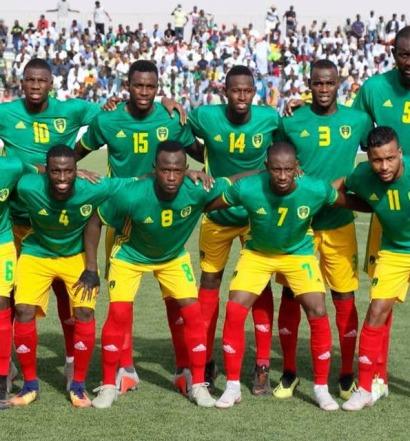 La Mauritanie en tête de son groupe a fait un pas vers la phase finale de la CAN 2019 (photo page Facebook de la ffrim)