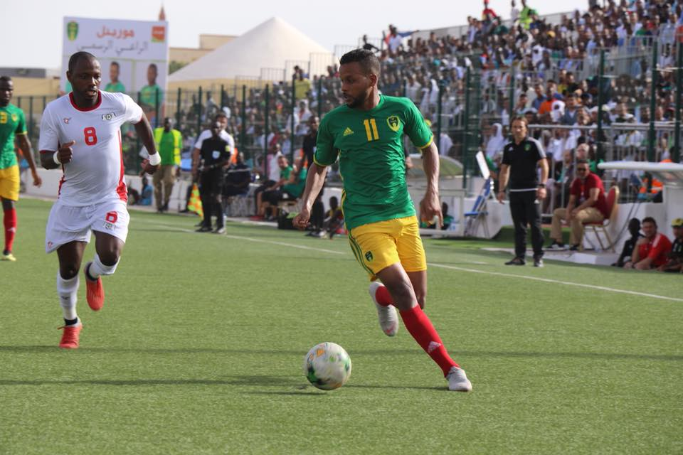 Mauritanie - Burkina Faso (2-0), photo page Facebook de la ffrim)