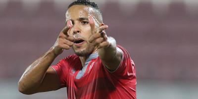 QSL: Doublé de Youssef El Arabi face au Ahli