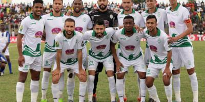 Raja Casablanca en finale de la Coupe de la Confédération (photo cafonline.com )