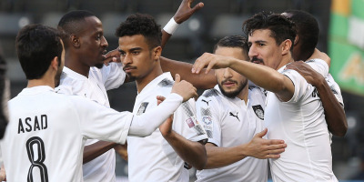 Al Sadd et son serial buteur Baghdad Bounedjah  (photo qsl.qa)