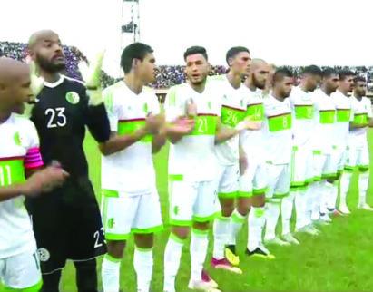 l'Algérie  lors de son déplacement en Gambie