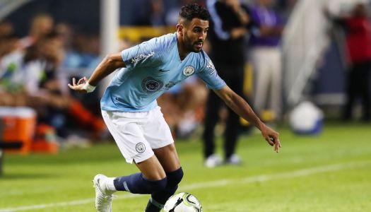 Manchester City :  Non,Mahrez n'a jamais douté
