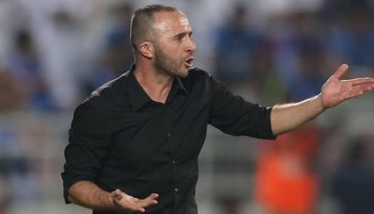 Algérie: Belmadi impitoyable avec la Ligue 1