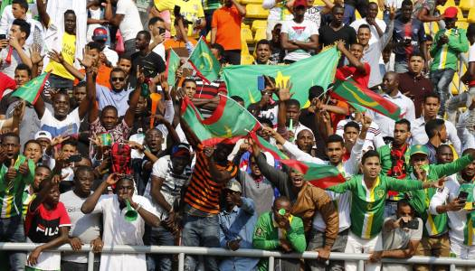 CAN 2019 : la Mauritanie coule en Angola