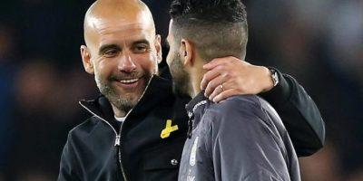 Guardiola - Mahrez, l respect et l'admiration mutuels