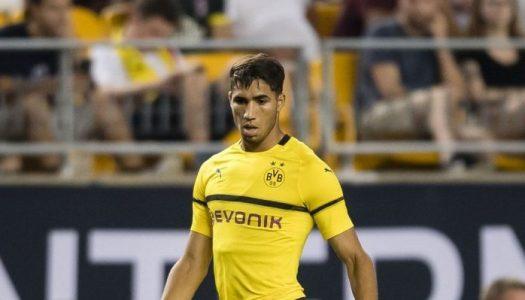 Dortmund: Hakimi vaut désormais 45 millions d'euros