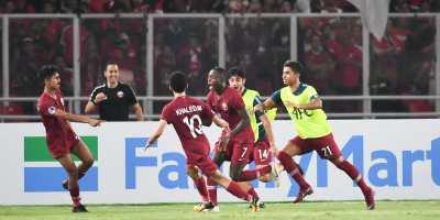 Qatar U19 - Indonésie U19 § 6-5), photo afc.om