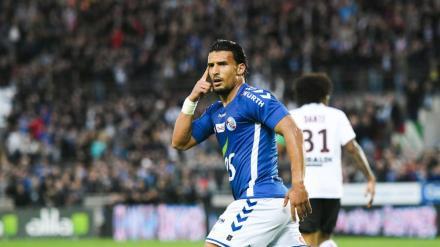 Idriss Saadi n'a disputé que 9 minutes depuis le début de la saison avec Strasbourg