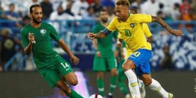 Arabie Saoudite - brésil (0-2)