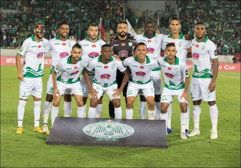 RAJa Casablanca ( demi finale de la coupe de de la CAF, octobre 2018), photo cafonline.com