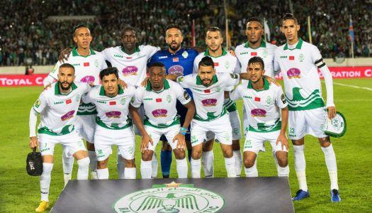 Afrique : Le Raja en démonstration contre V.Club (3-0)