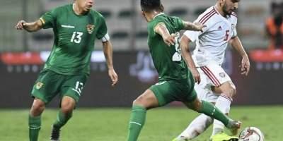 Emirats arabes unis - Bolivie (0-0), photo fédération émir taie de football