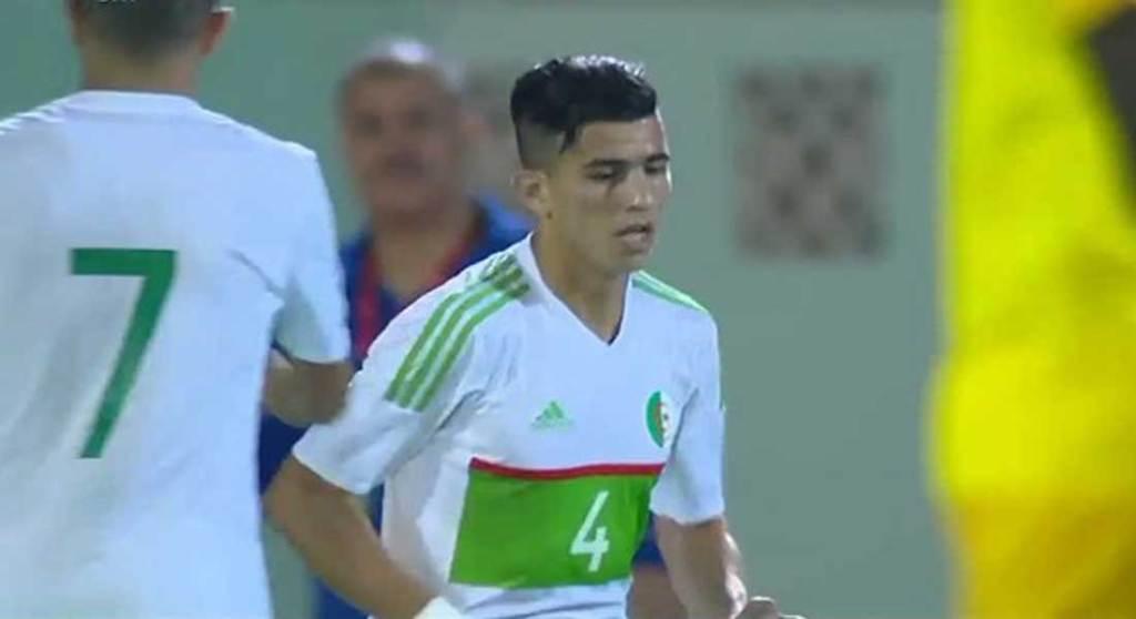 Youce Atal, un but exceptionnel.  Le défenseur phénomène de l'équipe d'Algérie
