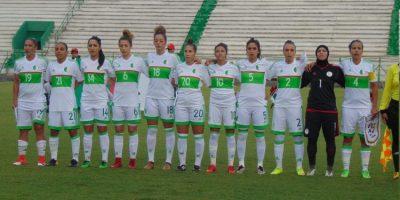 Algérie dames 2018 ( photo far.dz)