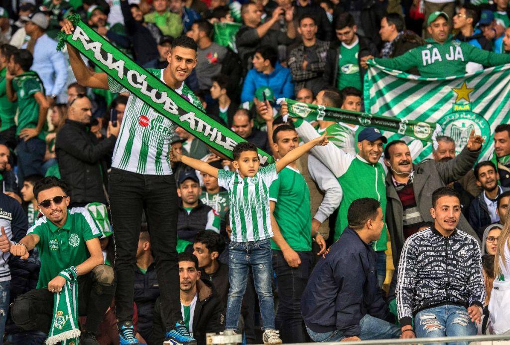 Stade Mohammed V en ébullition et victoire brillante du Raja (photo acfonline.com)