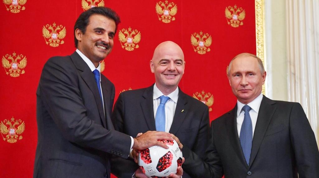 Sheikh Tamim bin Hamad Al –Thani  ( du Mondial 2018 au Mondial 2022)