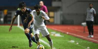 Al Ghannam (17 ans) sera un atout pour les Faucons Verts en finale de l'AFC U19 (photo afc.com-)