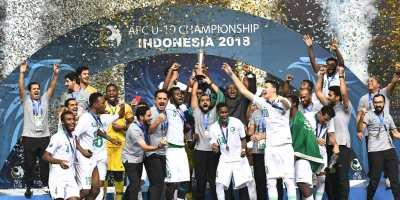 Les Faucons Verts U19 champions d'Asie 2018 (photo afc.com)