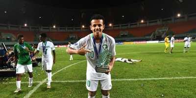 Turki Al-Ammar (MVP de l'AFC U19 2018), photo afc.com