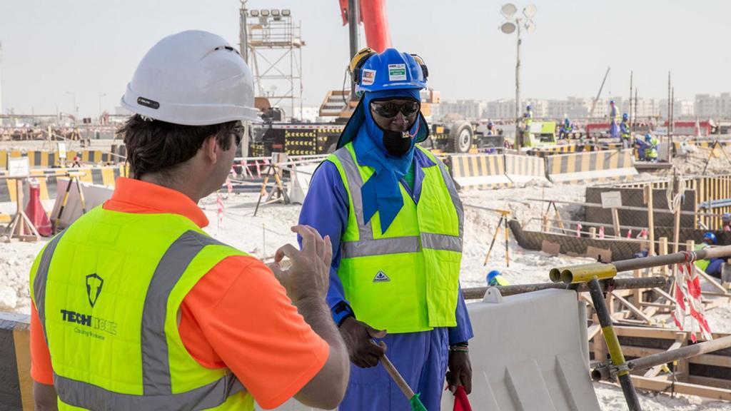 Des conditions de travail améliorées sur les chantiers