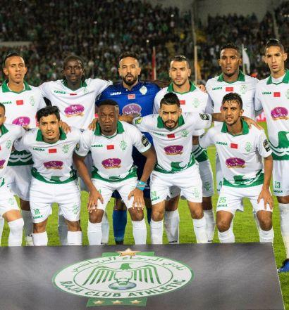 Raja Casablanca, vainqueur de la Coupe de la Confédération 2018 (photo cafonline.com )