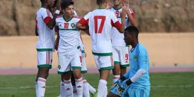 Maroc U17 (photo frmf.ma)