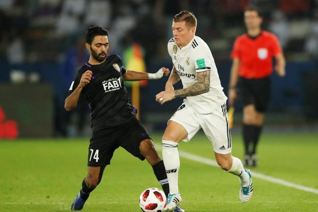 Al Ain - Real Madrid (1-4)