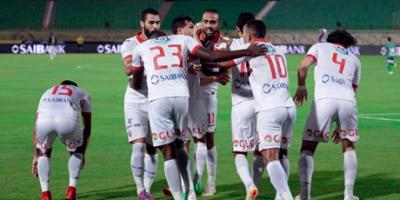 Le Zamalek accroché  par Pyramids FC