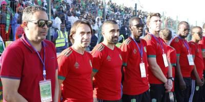 Corentin Martins cherche à renforcer le groupe des Mourabitounes dans la perspective de la CAN 2019 (photo page Facebook ffrim)
