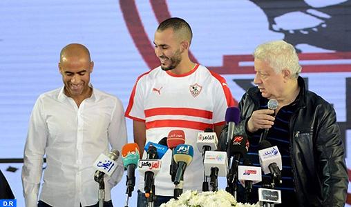 Zamalek :   Boutaïb a faim de titres