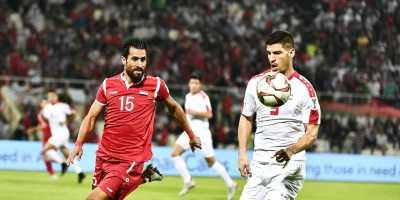 La Syrie a buté sue la défense de fer de la Palestine (photo afc.com)